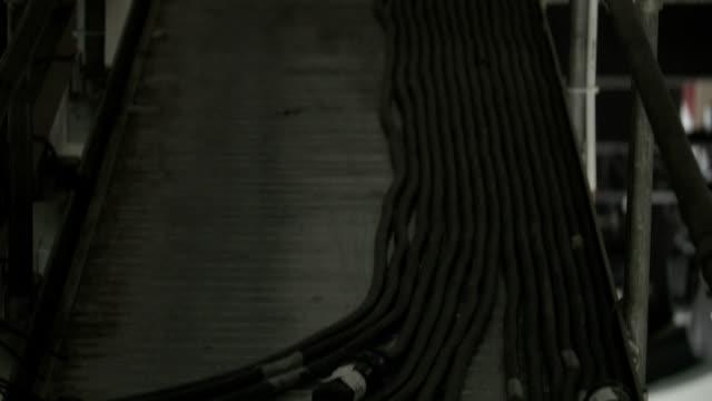 vídeos y material grabado en eventos de stock de cables eléctricos - centralita de teléfono