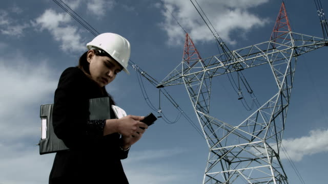 Electrical Engineer with phone