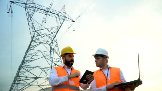electrical engineers work on the project - transformer stock videos & royalty-free footage