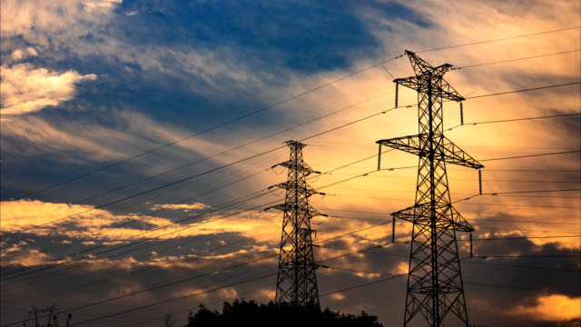 Electrical Pylons translation 4K UHD