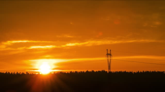 electricity and solar energy - telephone line stock videos & royalty-free footage