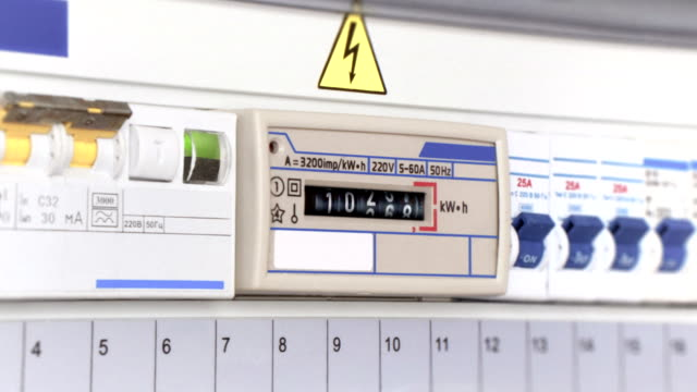 electricity meter - power supply stock videos & royalty-free footage