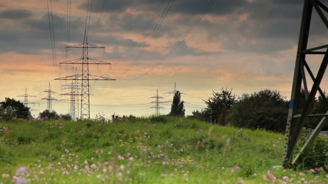 CRANE UP: Electricity Pylons