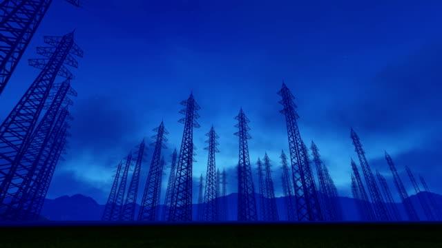 Electricity Transmission Pylon