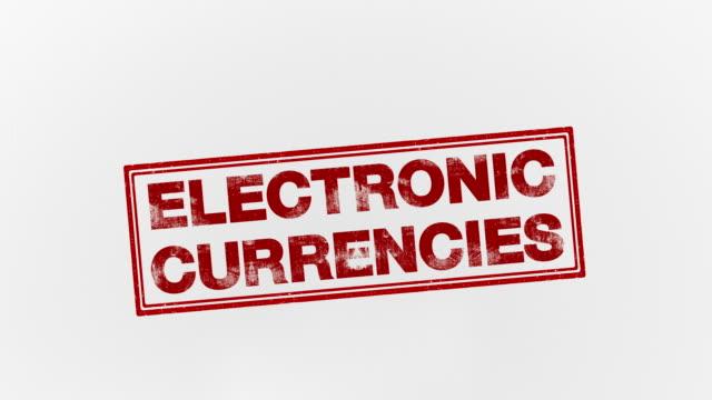 stockvideo's en b-roll-footage met elektronische valuta 's - financieel item