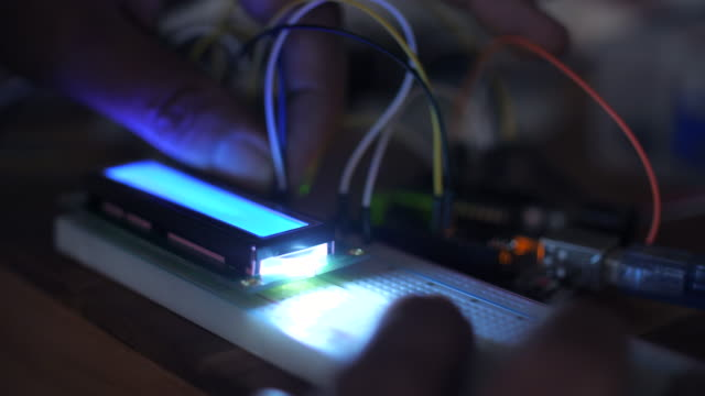 Elektronik-Ingenieur Setup Prototyp, DIY-Platine