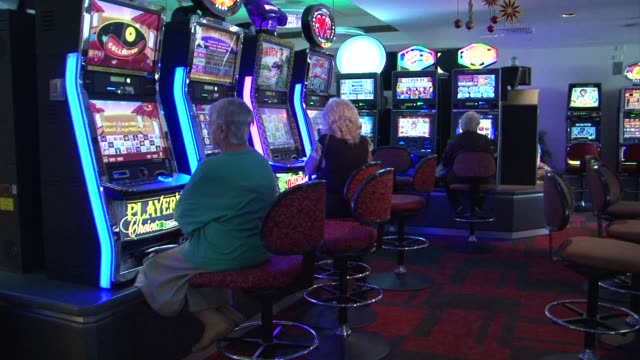 electronic poker machines are the most popular form of betting in australia but concerns about problem gamblers mean the government is stepping in to... - machinery stock videos & royalty-free footage