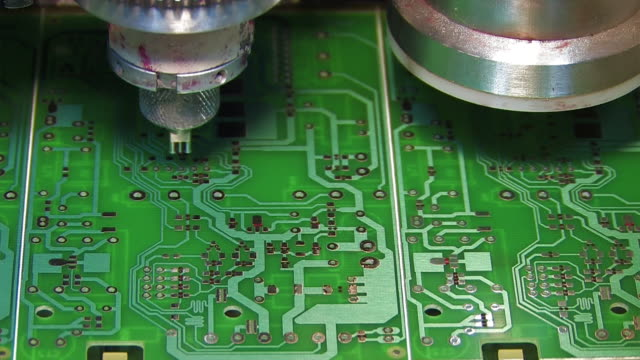 electronics industry - electronics industry stock videos & royalty-free footage