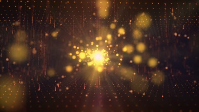 elegant 4k lights gold blurred bokeh background. elegant gold abstract. fairy magical worship ackground with circles and stars. christmas animated background. loop able abstract background circles. - award stock videos & royalty-free footage