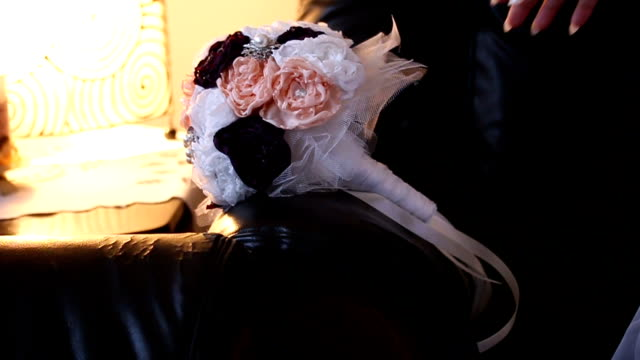 elegant bride flower - beauty pageant stock videos and b-roll footage