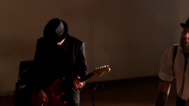 elegant performance of mixed with different music genres and styles - punk music stock videos and b-roll footage