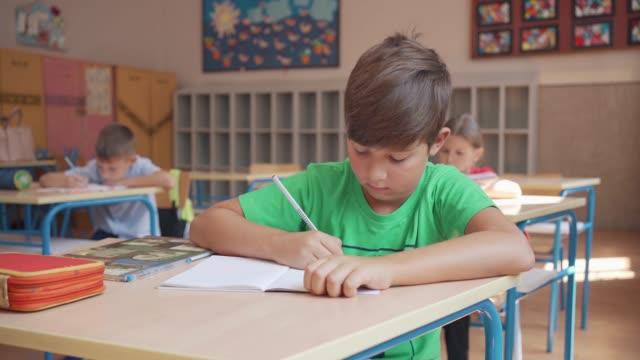 vídeos de stock, filmes e b-roll de alunos do ensino fundamental em sala de aula - 6 7 anos