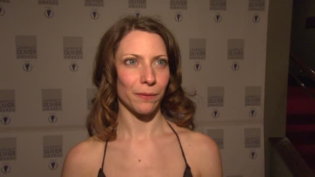 Elena Roger on being nominated for twice in three years at the Laurence Olivier Awards 2009 at London