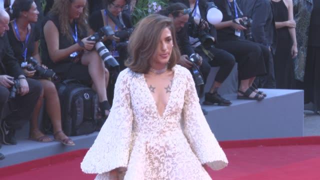 Eleonora Carisi at Opening Red Carpet 'La La land' 73rd Venice Film Festival at Palazzo del Casino on August 31 2016 in Venice Italy