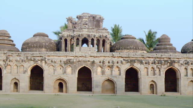 Elephant Stables In Hampi, India
