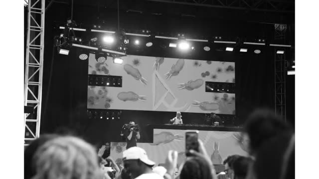 elephante at the made in america festival at benjamin franklin parkway on august 31 2019 in philadelphia pennsylvania - benjamin franklin parkway stock-videos und b-roll-filmmaterial