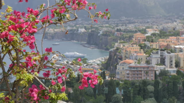 Elevated panoramic view of Sorrento, Costiera Amalfitana (Amalfi Coast), UNESCO World Heritage Site, Campania, Italy, Europe
