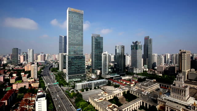 WS HA Elevated Roads and Buildings / Shanghai, China