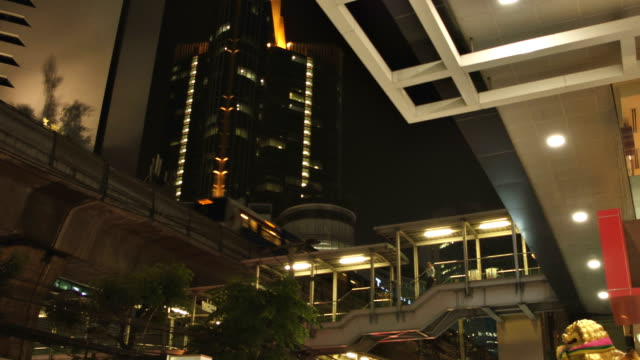 elevated train station - elevated train stock videos and b-roll footage