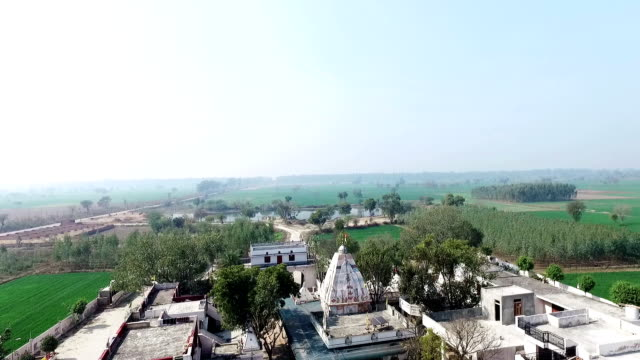 Elevated view of Temple