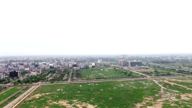 Elevated view of the Delhi city