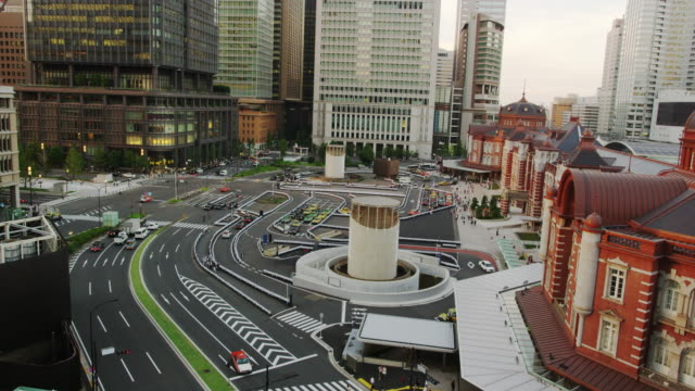 Elevated View of the newly Renovated Tokyo Station