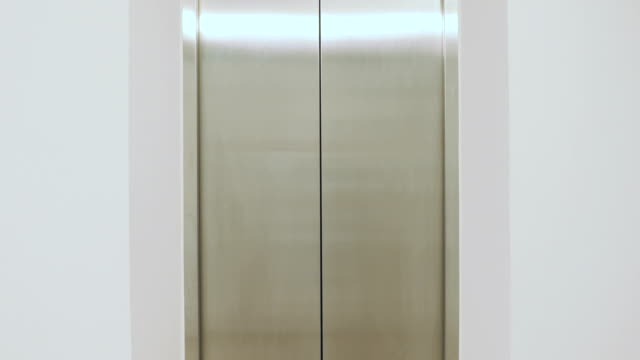 elevator doors open and close - elevator stock videos & royalty-free footage