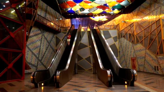 elevator in subway
