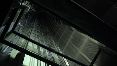 elevator moving up / berlin, germany - narrow stock videos & royalty-free footage