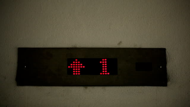 vídeos de stock, filmes e b-roll de número de elevadores - número