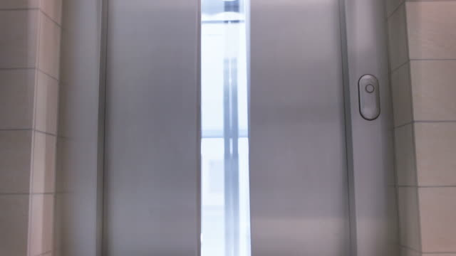 elevator - door stock videos & royalty-free footage