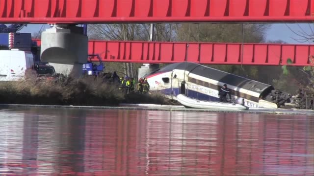 eleven people are now known to have died when a french high speed train that derailed on a test run a deputy prosecutor said on sunday adding that... - crash test stock videos & royalty-free footage