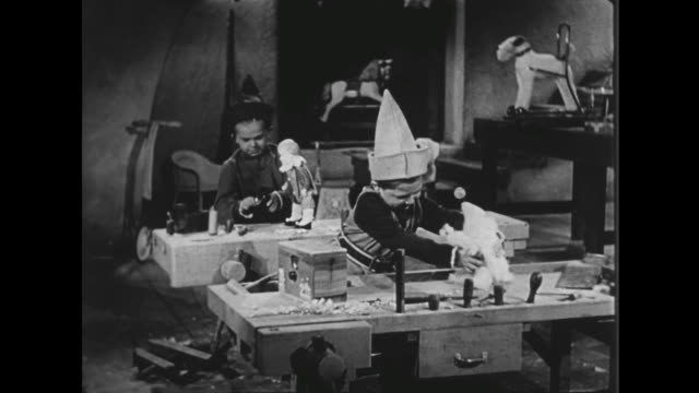 1941 Elf finishes making toy and tests it
