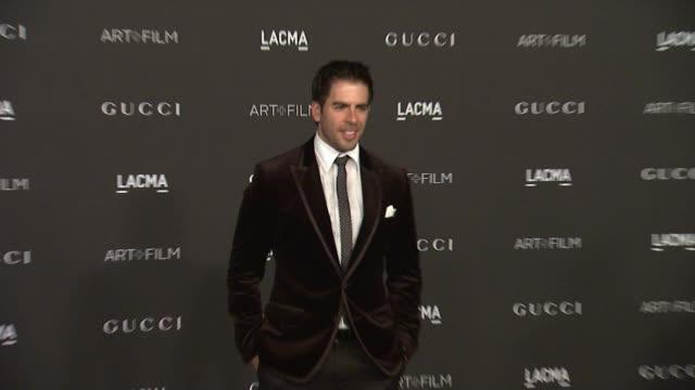 Eli Roth at 2014 LACMA ArtFilm Gala Honoring Barbara Kruger And Quentin Tarantino Presented By Gucci in Los Angeles CA