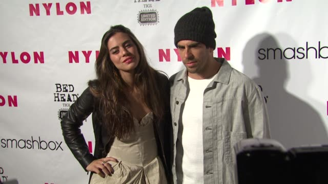 Eli Roth at NYLON 13th Anniversary Issue Celebration on 4/10/12 in West Hollywood CA