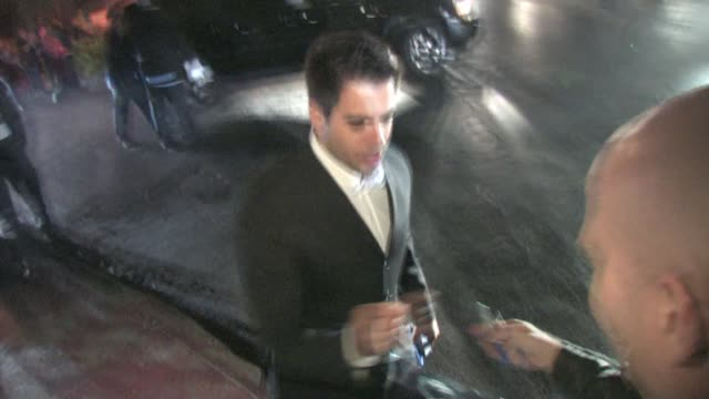 Eli Roth at the 2010 Scream Awards at the Celebrity Sightings in Los Angeles at Los Angeles CA