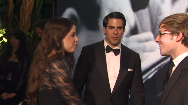 eli roth at the 2010 vanity fair oscar party hosted by graydon carter at west hollywood ca - graydon carter stock videos and b-roll footage