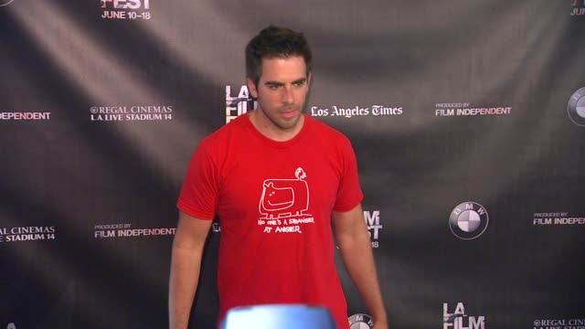 Eli Roth at the 2015 Los Angeles Film Festival Closing Night Live Read of Fast Times At Ridgemont High at Regal Cinemas LA Live on June 18 2015 in...
