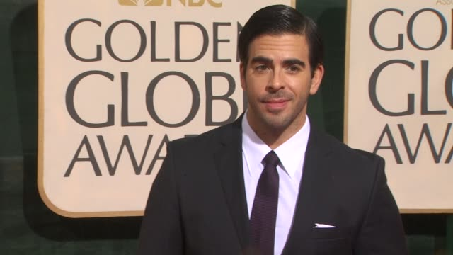 Eli Roth at the 67th Annual Golden Globe Awards Arrivals Part 4 at Beverly Hills CA