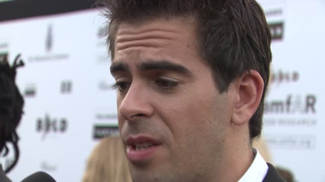Eli Roth at the Cannes Film Festival 2009 amfAR Red Carpet at Antibes