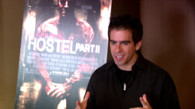 Eli Roth at the 'Hostel 2' Screening at 42nd Street AMC in New York New York on June 6 2007