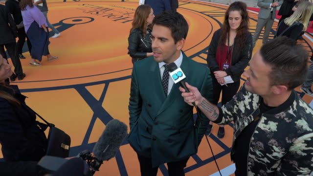 Eli Roth at 'The House With A Clock In Its Walls' World Premiere at Westfield White City on September 5 2018 in London England