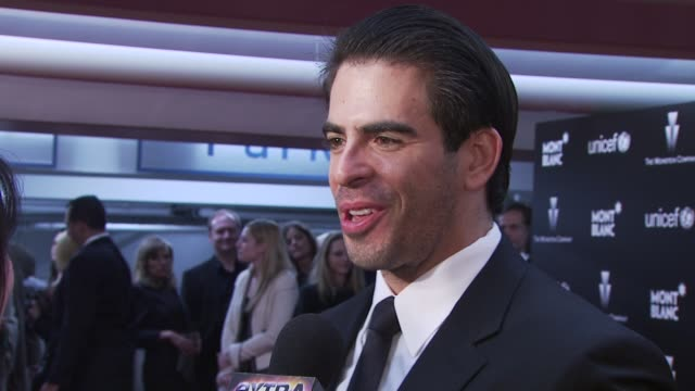 Eli Roth at the Montblanc Charity Cocktail hosted by The Weinstein Company to benefit UNICEF at Soho House at West Hollywood CA