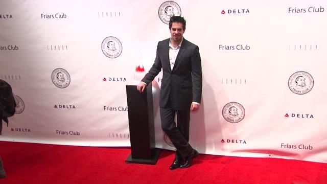 Eli Roth at the Quentin Tarantino Roasting at the New York Friars Club at New York NY