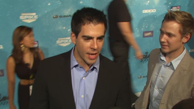 Eli Roth at the Spike TV's 'SCREAM 2009' at Los Angeles CA