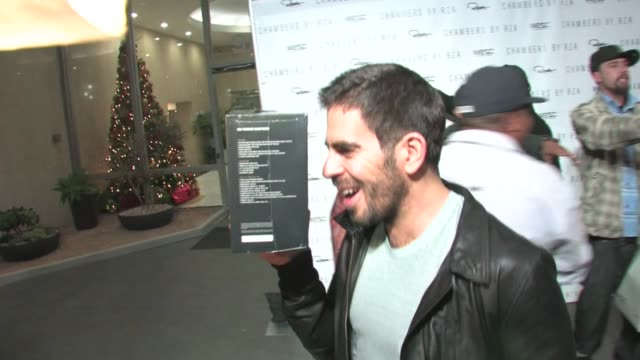 Eli Roth at Trousdale in West Hollywood on 12/1/2011