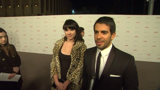 Eli Roth on why he wanted to attend the LACMA Art Film Gala the significance of art film at LACMA his favorite LACMA memory/exhibition and what he is...