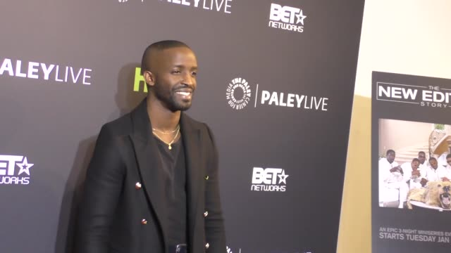 Elijah Kelley at the Paley Center For Media Presents Premiere Of BET's 'The New Edition Story' on December 14 2016 in Beverly Hills California