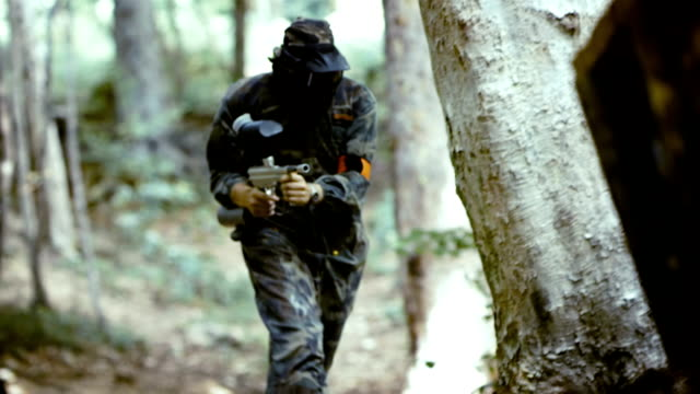 Eliminating A Paintball Player