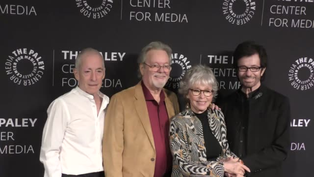 Eliot Feld Russ Tamblyn Rita Moreno and George Chakiris at Words On Dance Jerome Robbins And West Side Story presented by The Paley Center for Media...